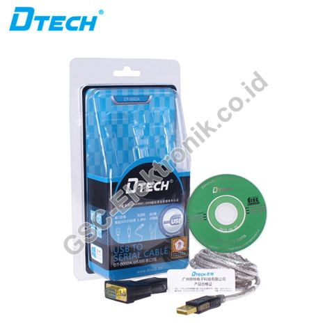 DTECH HDMI CONVERTER USB V2.0 TO SERIAL DB9 CONVERTER CABLE DT-5002A 3 dt_5002a_3