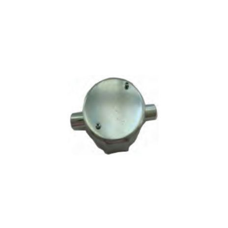 ACCESSORIES FOR STEEL PIPE CONDUIT FORT CIRCULAR JUNCTION BOX 2 WAY THROUGH FOR TYPE G JBG211-216 1 jbg211_216